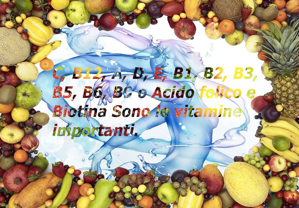 Vitamina B12, Vitamina C e tutte le vitamine importanti